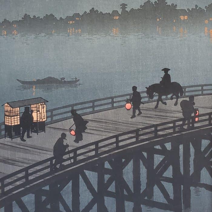 Shoda Koho - Ohashi Bridge at Atako (featured square)