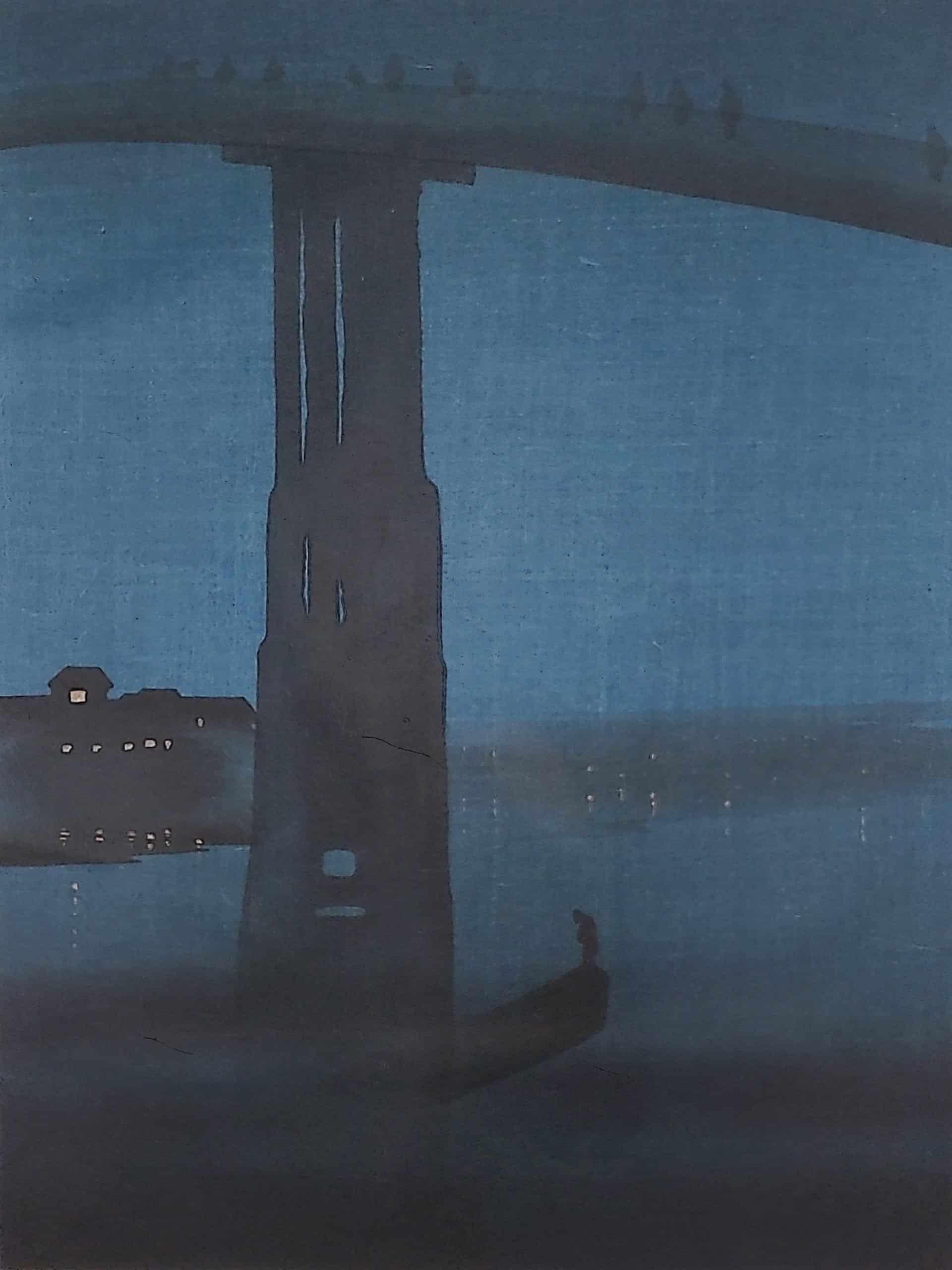 Eijiro Kobayashi - Night Bridge (front)