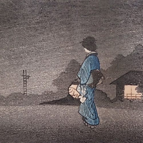 Hiroaki Takahashi (Shotei) - Walking Home at Night (featured square)