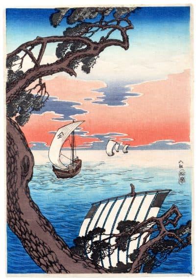 Hiroaki Takahashi (Shotei) – Coming Ships (front)