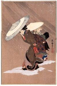 Fujimaro Kitagawa - Beauty in the Snow