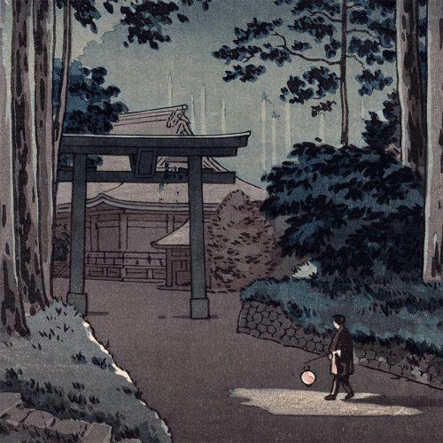 Tsuchiya Koitsu - Nikko Futarasan Temple (featured)