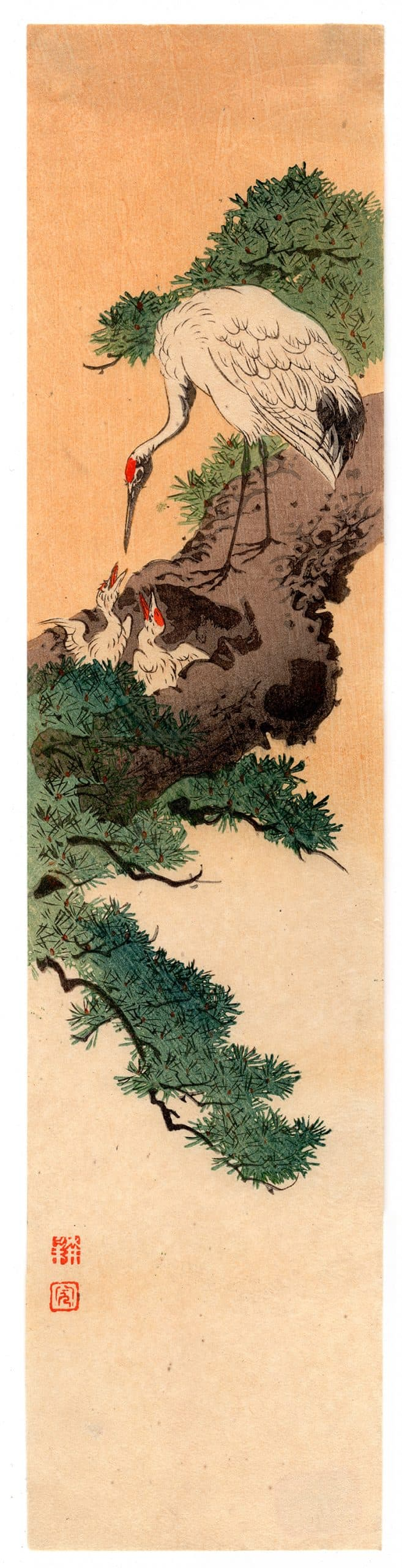 Shoda Koho - Heron and Chicks