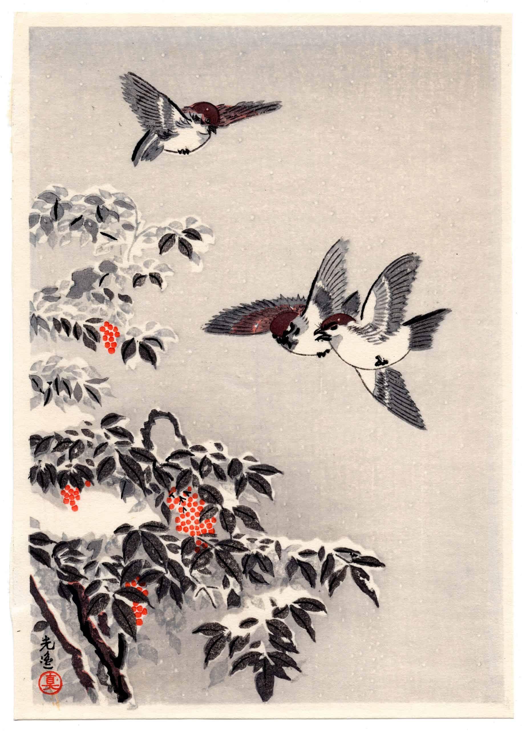 Tsuchiya Koitsu - Sparrows