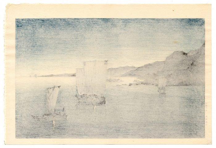 Kason Suzuki - Kominato Harbor (verso)