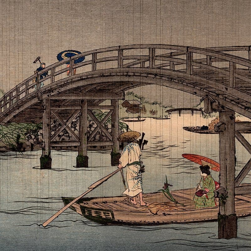 Shoda Koho - Bridge in Rainy Season (featured)