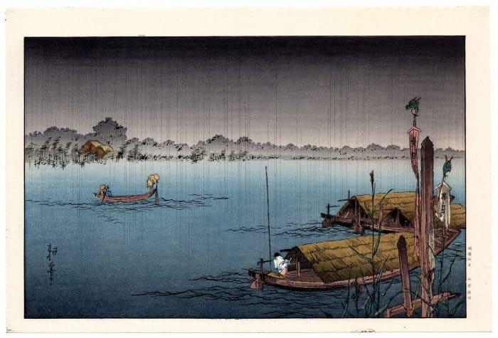 Shoda Koho - River in the Rain