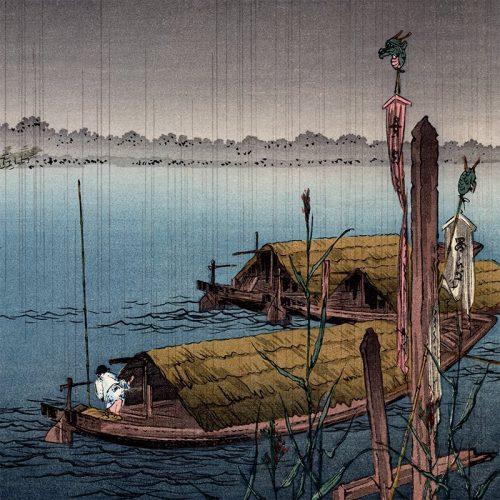 Shoda Koho - River in the Rain (featured)