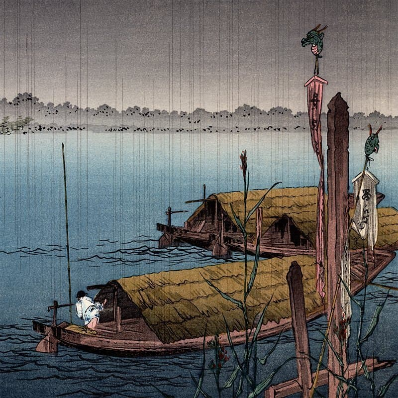 Shoda Koho - River in the Rain (featured)