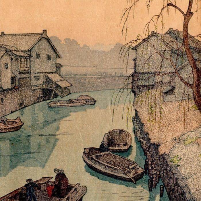 Toshi Yoshida - Iidabashi Village (featured)