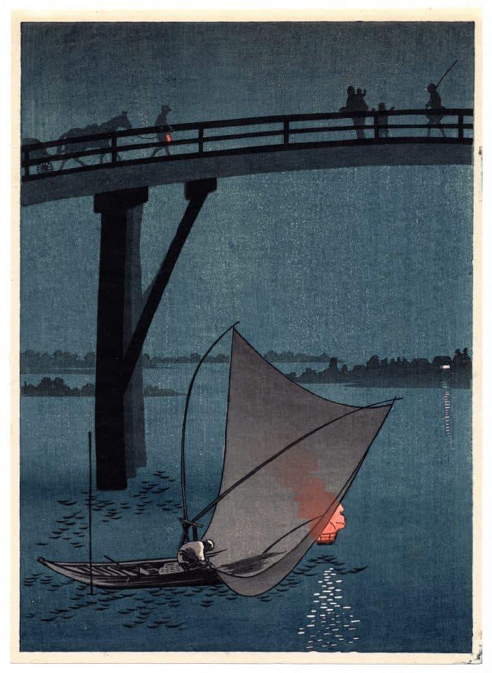 Arai Yoshimune - A Fishing Boat