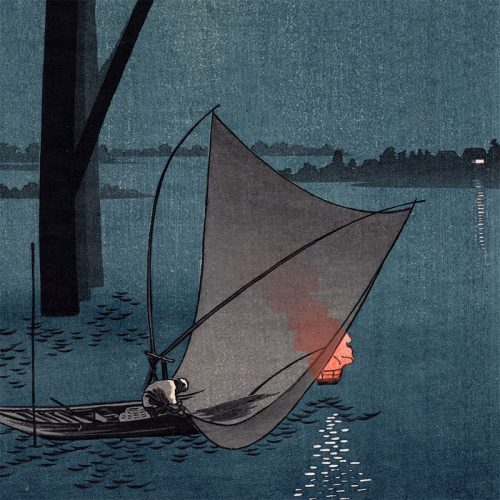 Arai Yoshimune - A Fishing Boat (featured)