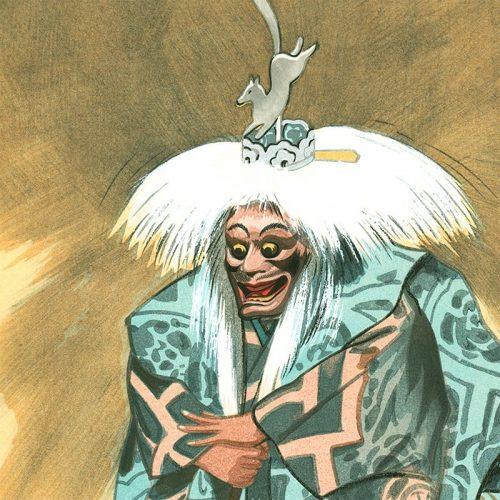 Hideki Hanabusa - Kokaji, The Sword Smith and Divine Fox (featured)