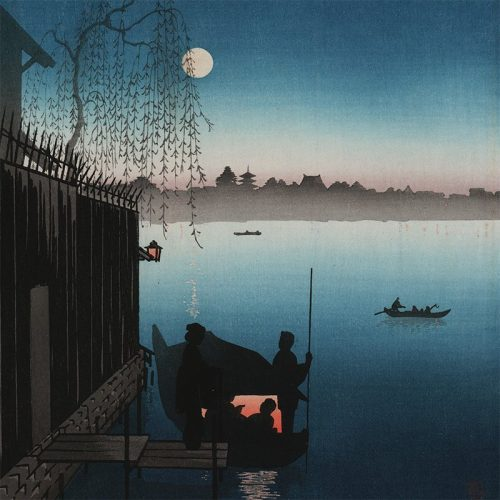 Eijiro Kobayashi - Evening Cool on Sumida (featured)