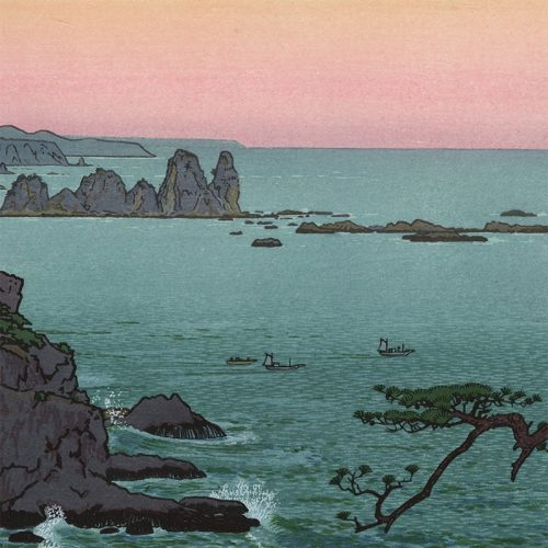Toshi Yoshida - Irozaki, Morning (featured)