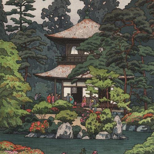 Toshi Yoshida - Silver Pavilion, Kyoto (featured)