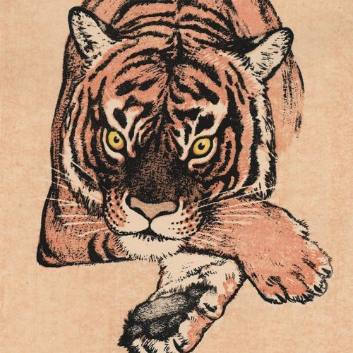 Toshi Yoshida - Tiger (featured)