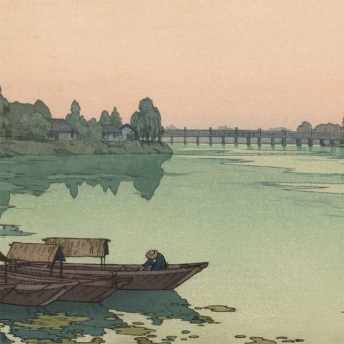 Toshi Yoshida - Yodo River (featured)