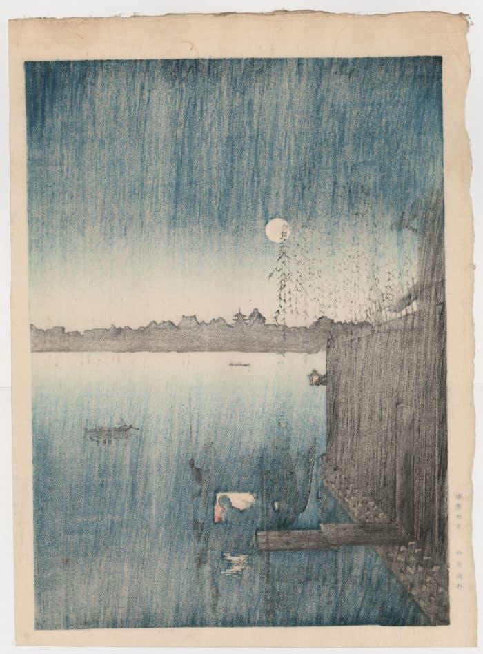 Eijiro Kobayashi - Evening Cool on Sumida (verso)