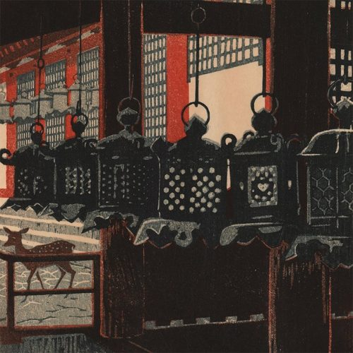 Shiro Kasamatsu - Kasuga Shrine (featured)
