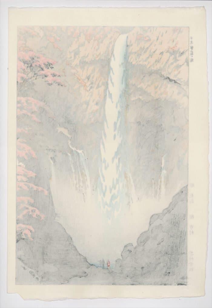 Shiro Kasamatsu - Kegon Falls (verso)