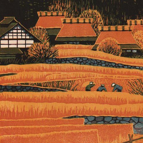 Shiro Kasamatsu - Ohara in Autumn (featured)