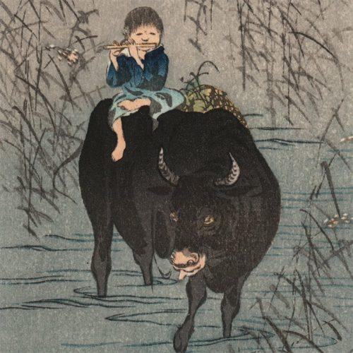 Shoda Koho - Boy and Ox (featured)