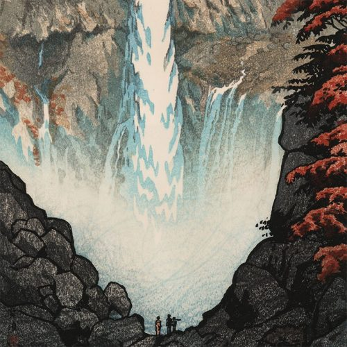 Shiro Kasamatsu - Kegon Falls (signed) (featured)