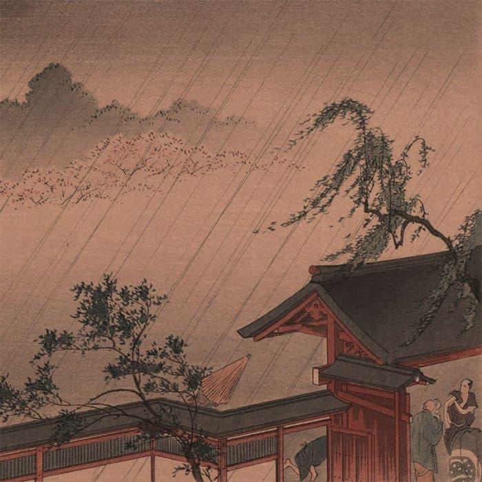 Shoda Koho - Sudden Shower on Cherry Blossoms (featured)