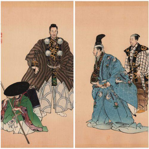 Tsukioka Kogyo - Ataka (diptych) (featured)