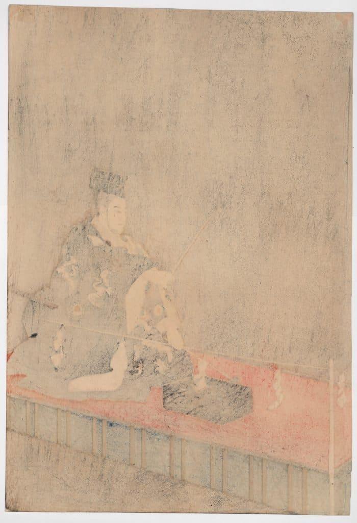 Tsukioka Kogyo - Kokaji (The Swordsmith) (diptych) (right panel verso)