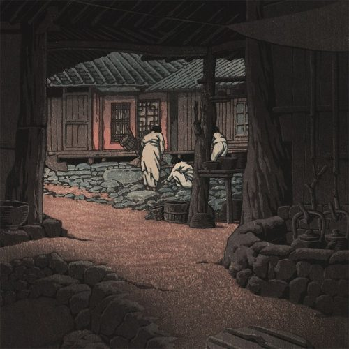 Kawase Hasui - Chunum Temple in Korea (featured)