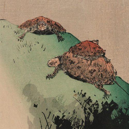 Seitei (Shōtei) Watanabe - Three Turtles (featured)