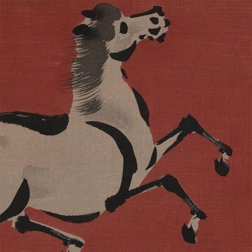 Aoyama Seizan - Zen Horse #1 (featured)