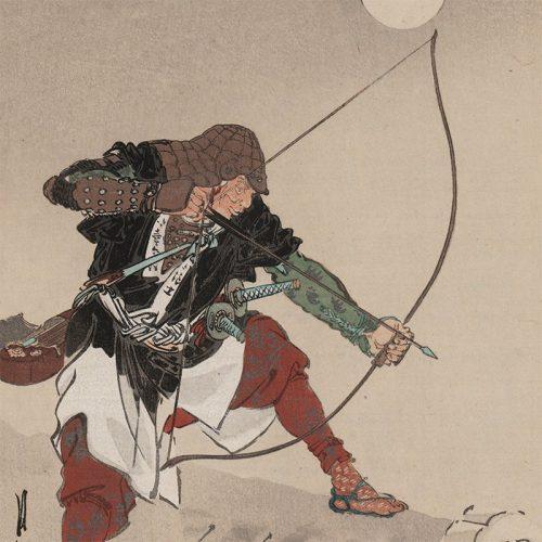 Ogata Gekkō - Muramatsu Kihei Hidenao, 47 Ronin (featured)