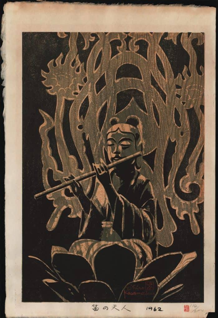 Shiro Kasamatsu - Angel with Flute
