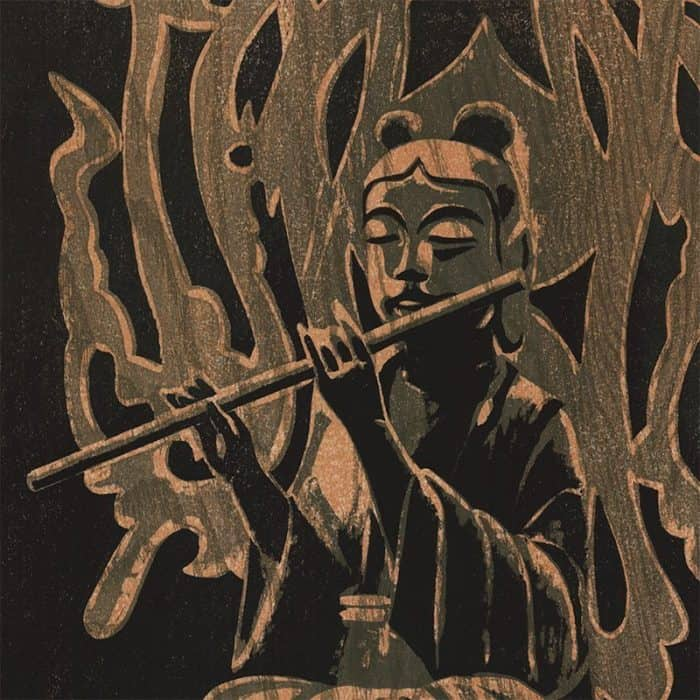 Shiro Kasamatsu - Angel with Flute (featured)