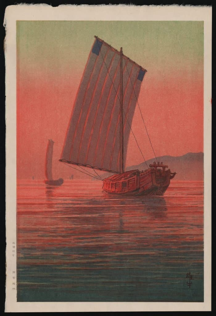 Ito Yuhan - Boats in the Sunset Glow