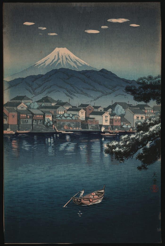 Tsuchiya Koitsu - Tokaido Numazu Harbor