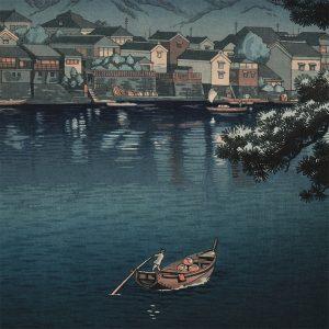 Tsuchiya Koitsu - Tokaido Numazu Harbor (featured)