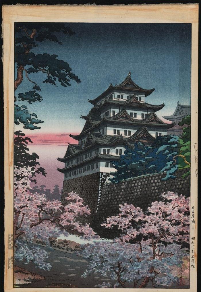 Tsuchiya Koitsu - Nagoya Castle