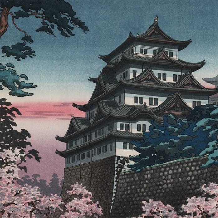 Tsuchiya Koitsu - Nagoya Castle (featured)