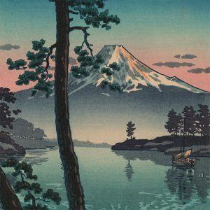 Tsuchiya Koitsu - Fuji from Tago Bay (featured)