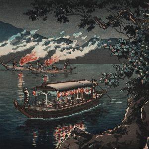 Tsuchiya Koitsu - Nagaragawa Ukai (featured)